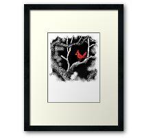 The Cardinal's Tree Framed Print