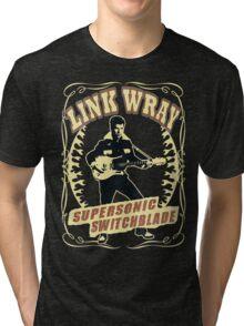 Link Wray (Supersonic Switchblade) Vintage Tri-blend T-Shirt