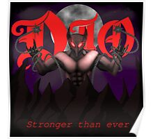 Dio- stronger than ever Poster