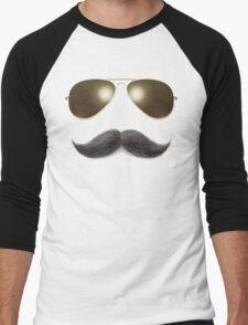 Easy Mustache Rider Men's Baseball ¾ T-Shirt