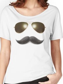 Easy Mustache Rider Women's Relaxed Fit T-Shirt