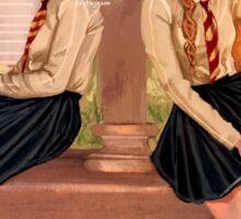 Hermione and Ginny Sticker