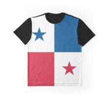 Panama Flag Graphic T-Shirt