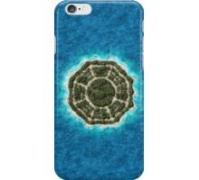 dharma island iPhone Case/Skin