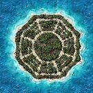 dharma island by halfabubble