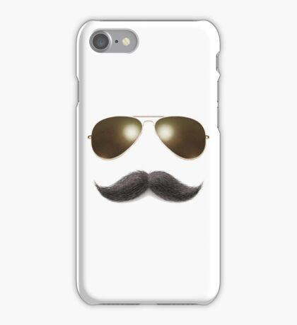 Easy Mustache Rider iPhone Case/Skin