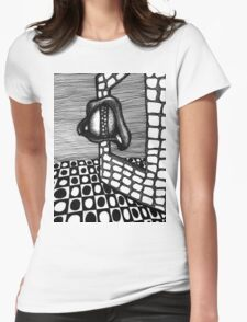 Lens Effect Womens Fitted T-Shirt