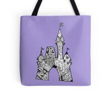 Castle Doodle Tote Bag