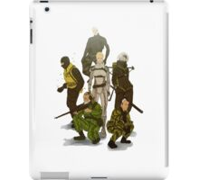 Cobra Unit iPad Case/Skin