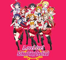 Love Live! Womens Fitted T-Shirt