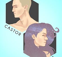 Project CASTOR & Project LEDA: Orphan Black Ver.1 by tangzpainter
