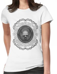 Skull Ring Womens Fitted T-Shirt
