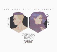 Project CASTOR & Project LEDA: Orphan Black Ver.2 T-Shirt