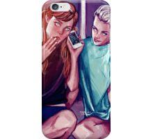 Anna and Elsa iPhone Case/Skin