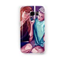 Anna and Elsa Samsung Galaxy Case/Skin
