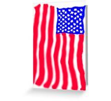 USA July 4th  Greeting Card