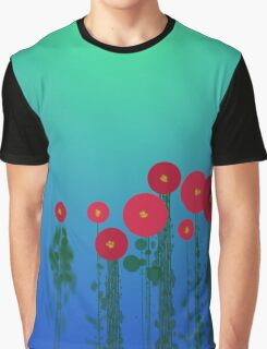 Flower Field Graphic T-Shirt