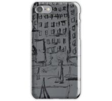 Harbour Drawing  iPhone Case/Skin