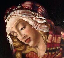 Painting Botticelli by Heidi Erisman
