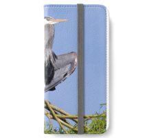 Yoga Heron iPhone Wallet/Case/Skin