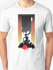 2001: A Space Odyssey - Dawn of Man - With Background Unisex T-Shirt