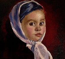 Child with Headwrap by Heidi Erisman