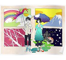The Tatami Galaxy (Yojouhan Shinwa Taikei) - Akashi & Watashi Poster