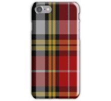 01814 Buchanan Old Dress Clan/Family Tartan iPhone Case/Skin