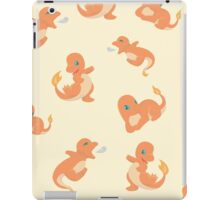 Playful charmander Pattern iPad Case/Skin