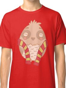 Wizard Owl - Red Classic T-Shirt