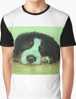 Big Puppy Paws Graphic T-Shirt