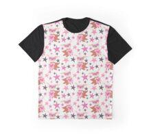 Hero Bunnies With Stars Graphic T-Shirt