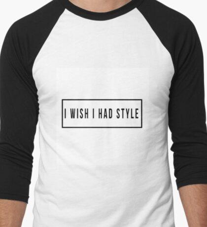 "Cher Lloyd ""I Wish"" Baseball Shirt Men's Baseball ¾ T-Shirt"