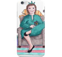 Turquoise Queen  iPhone Case/Skin