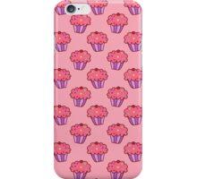 Pink Cupcake Pattern iPhone Case/Skin