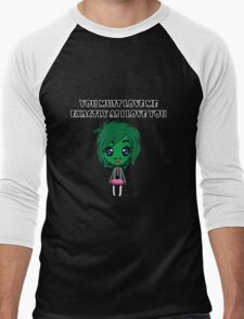 Old Gregg Wants Love Men's Baseball ¾ T-Shirt