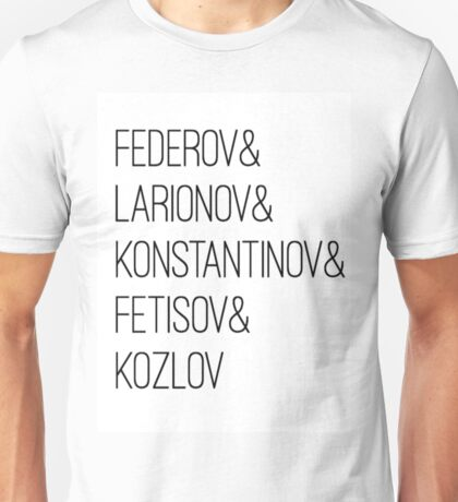 The Russian 5 Unisex T-Shirt