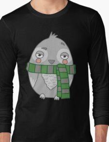 Wizard Owl - Green Long Sleeve T-Shirt