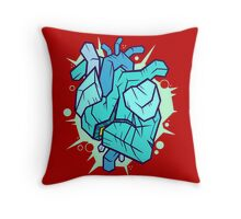 Cold-Hearted And Venomous Throw Pillow