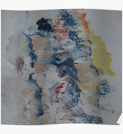 Abstract Watercolour Sketch Poster