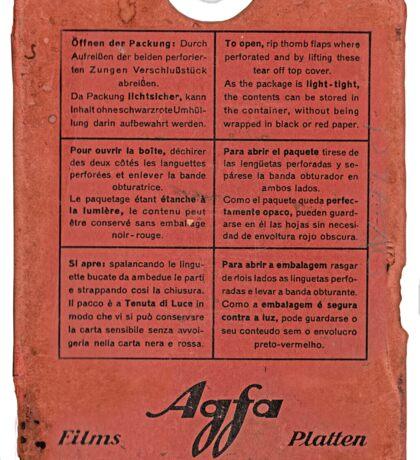 film plates box Sticker