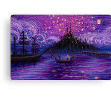 The Lantern Scene Alternate  Canvas Print