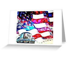 Herbie Patriot Painting Greeting Card