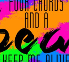 Neon Trees - Four Chords Sticker