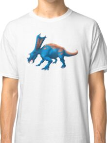 Blue Chasmosaurus Digital Painting Classic T-Shirt