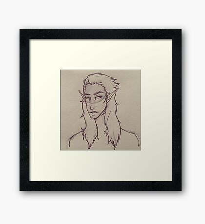 Elf Traditional  Framed Print