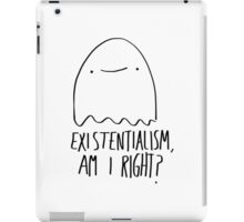 Existential Ghost iPad Case/Skin