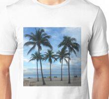 Palm trees beach Florida Unisex T-Shirt