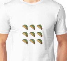 Chipotle Inspired - Taco Pattern Unisex T-Shirt