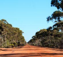 Yellowdine Track Outback WA Sticker